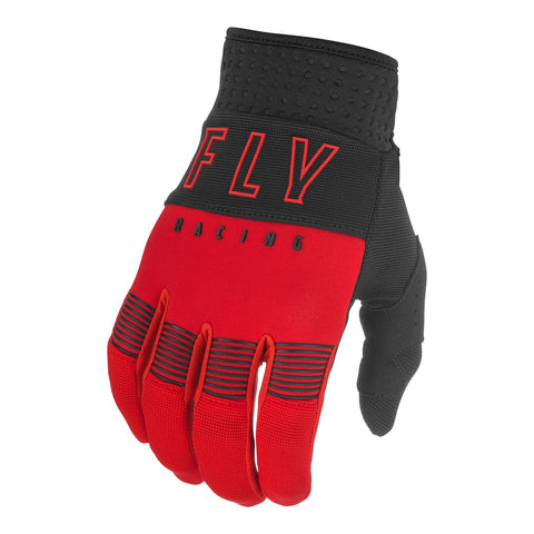 Fly 2021 F-16 Youth Glove - Red / Black
