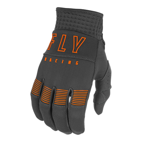 Fly 2021 F-16 Youth Glove - Grey / Orange