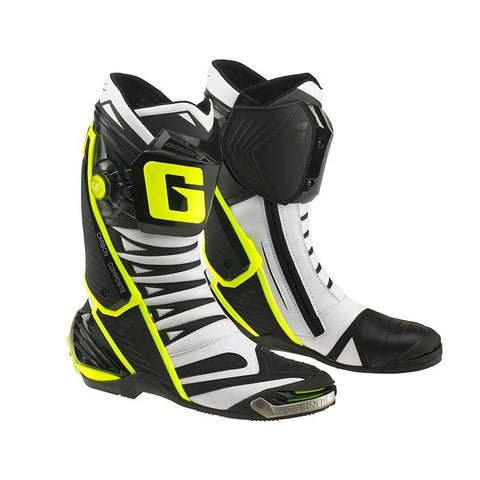 GAERNE GP1 EVO BOOT - WHITE / BLACK / YELLOW