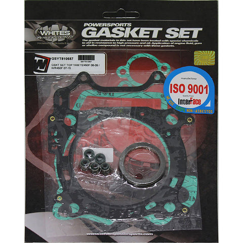 WHITES GASKET SET TOP YAM YZ450F 06-09 / WR450F 07-15