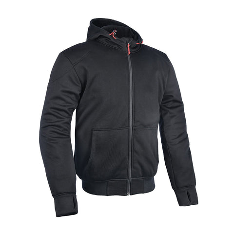 OXFORD SUPER HOODIE 2.0 MENS JACKET - BLACK