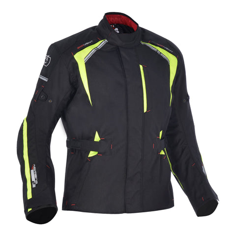 OXFORD SUBWAY 3.0 MENS JACKET - BLACK/FLUO