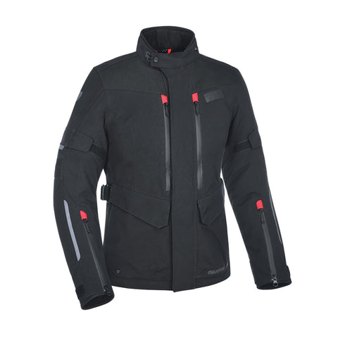 OXFORD MONDIAL LADIES LAMINATE JACKET - BLACK