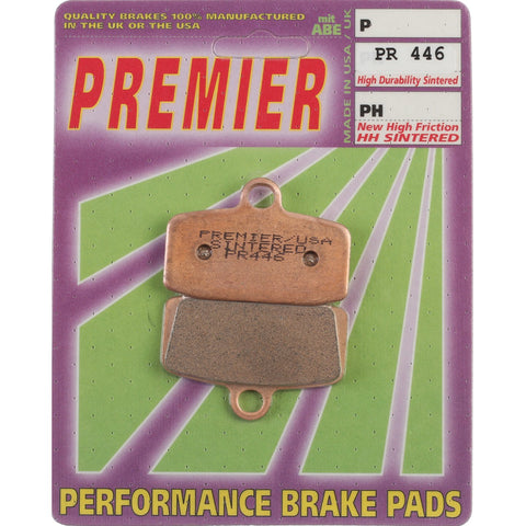 PREMIER BRAKE PADS FULL SINTER MX - KTM 350 Freeride Fnt