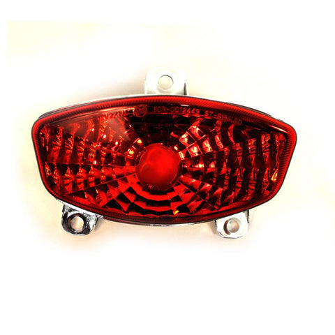 WHITES TAIL LIGHT HYOSUNG GT250/650/R Carb 04-09 LED REDlens