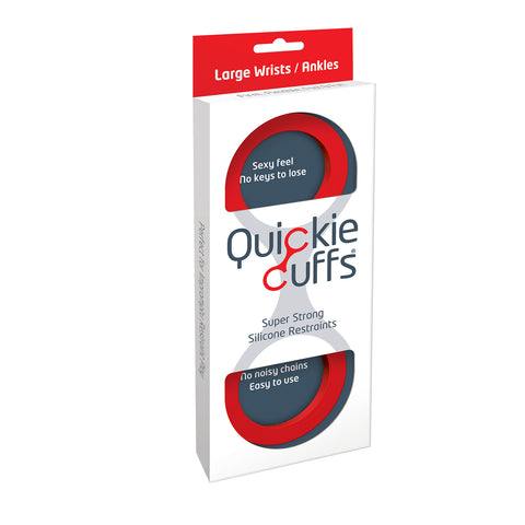 Quickie Cuffs- Large Red