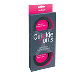 Quickie Cuffs- Medium Black