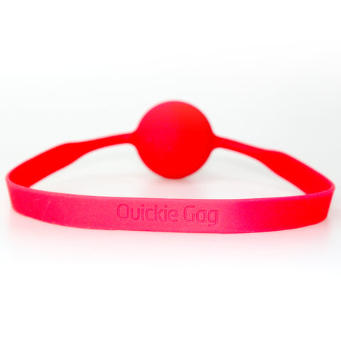 Quickie Ball Gag - Large Red