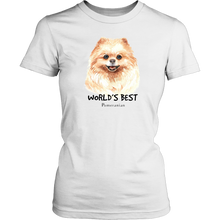 Load image into Gallery viewer, Pomeranian Lover's Tee Shirt - Fur Baby Whims