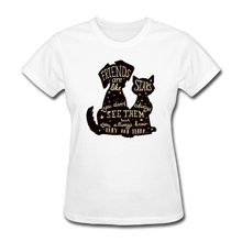 Load image into Gallery viewer, Friends Are Like Stars TeeShirt - Fur Baby Whims