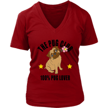 Load image into Gallery viewer, Pug Club 100% Pug Lover - T-Shirt - Fur Baby Whims