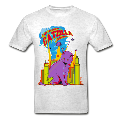 Catzilla T-shirt for Men - Fur Baby Whims