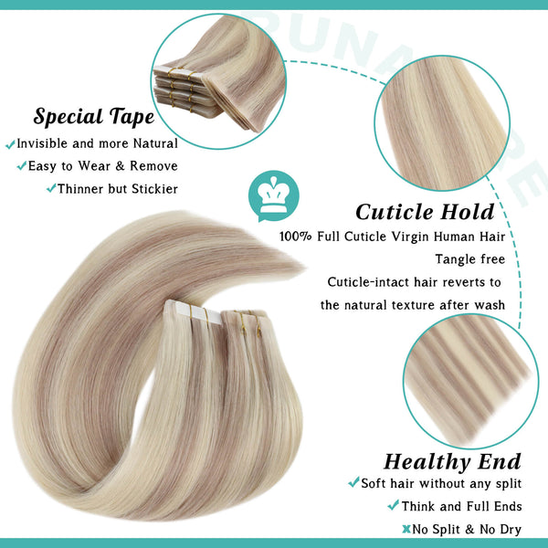 top quality injection tape hair
