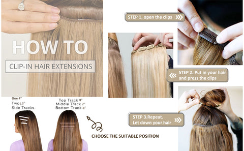 clip in hair extensions in United States