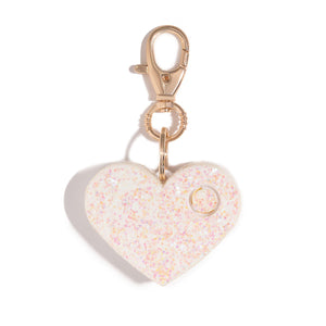 Ahh!-larm | Pearl Glitter Heart - shop and save with free shipping and free gifts with purchase at blingsting.com