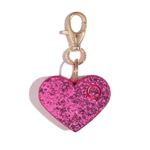 Ahh!-larm | Pink Glitter Heart - shop and save with free shipping and free gifts with purchase at blingsting.com