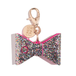 Ahh!-larm | Confetti Glitter Bow - shop and save with free shipping and free gifts with purchase only at blingsting.com