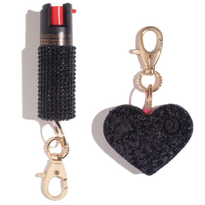 Bad Girl Sweet Heart Self Defense Set - shop and save with free shipping and free gifts with purchase only at blingsting.com