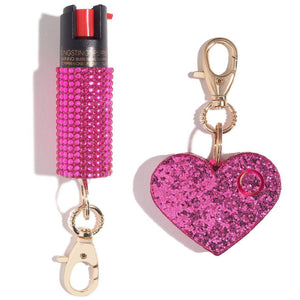 Sweetheart Self Defense Set - shop and save with free shipping and free gifts with purchase only at blingsting.com