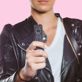 Show Stopper | Stun Gun + Pepper Spray + Black Bow Alarm - shop and save with free shipping and free gifts with purchase only at blingsting.com