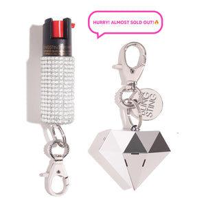 Goal Digger Sweet Heart | Self Defense Set - shop and save with free shipping and free gifts with purchase only at blingsting.com