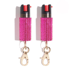 Sweetheart to Heart | Pepper Spray Twin Set - shop and save with free shipping and free gifts with purchase at blingsting.com