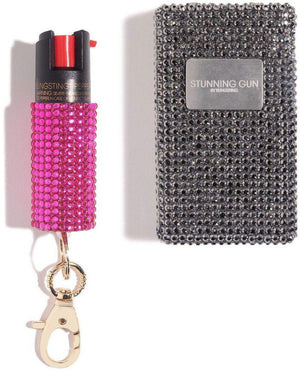 Show Stopper | Stun Gun + Pink Pepper Spray - shop and save with free shipping and free gifts with purchase only at blingsting.com