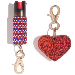 Ms. Merica Self Defense Set - shop and save with free shipping and free gifts with purchase only at blingsting.com