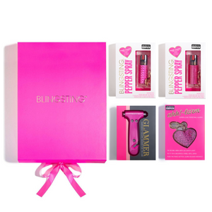 Very Merry Pink Gift Set - blingsting.com