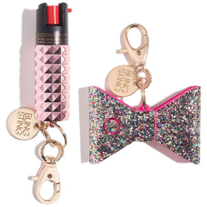 Rosé All Day Self-Defense Set - shop and save with free shipping and free gifts with purchase only at blingsting.com