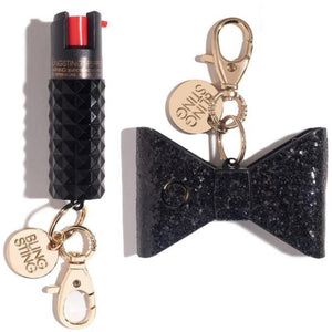 Bad to the Bow | Black Self Defense Set - blingsting.com
