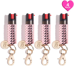Rosé All Day | Pepper Spray 4 Pack - shop and save with free shipping and free gifts with purchase only at blingsting.com