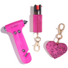 Fave Babes | Hot Pink Car Emergency Set - shop and save with free shipping and free gifts with purchase only at blingsting.com