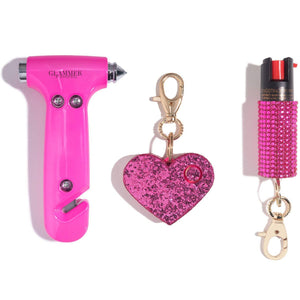 Fave Babes | Emergency Hot Pink Set - shop and save with free shipping and free gifts with purchase only at blingsting.com