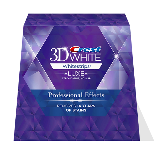 Crest 3D White Luxe Professional Effects - 20 Pouches 40 Strips