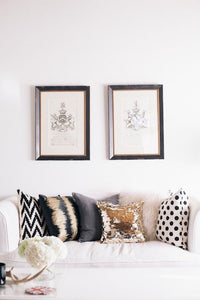 Sequin reversible cushions