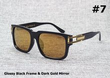 Mens Vintage Retro Hip Hop Style Sun Glasses - Celebrity Smile
