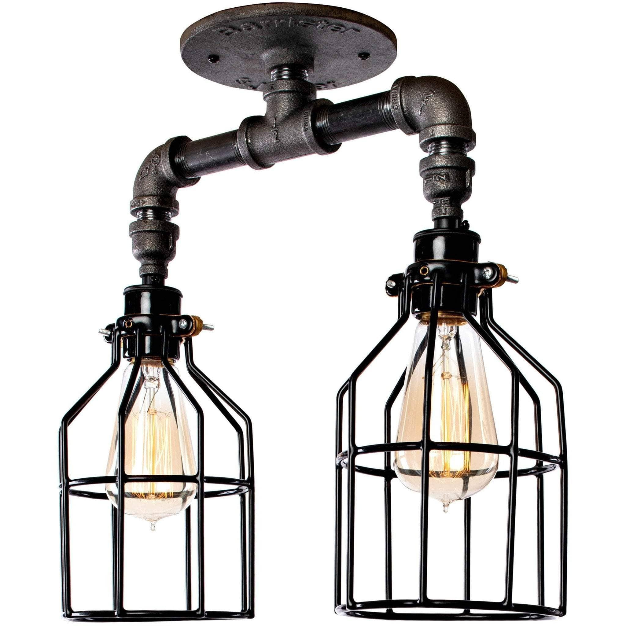 Lighting Industrial Double Pipe Light