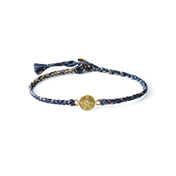 DEEP BLUE COMPASS BRACELET