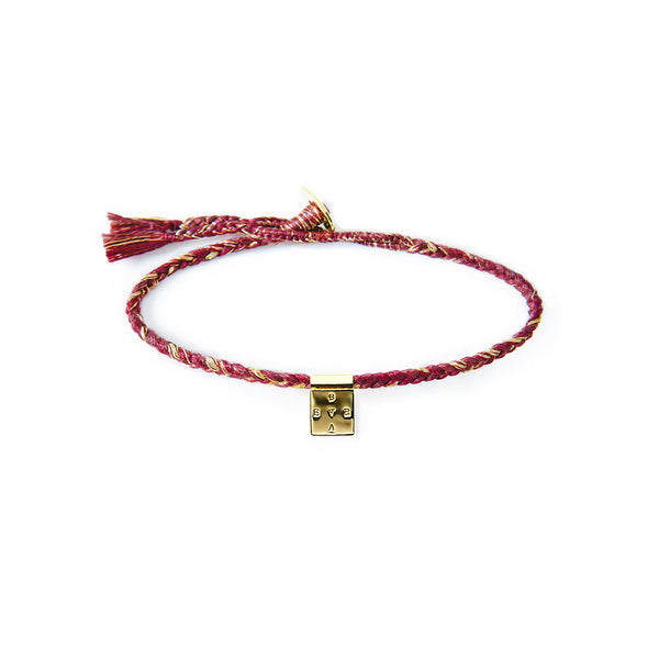 BERRY SQUARE BRACELET