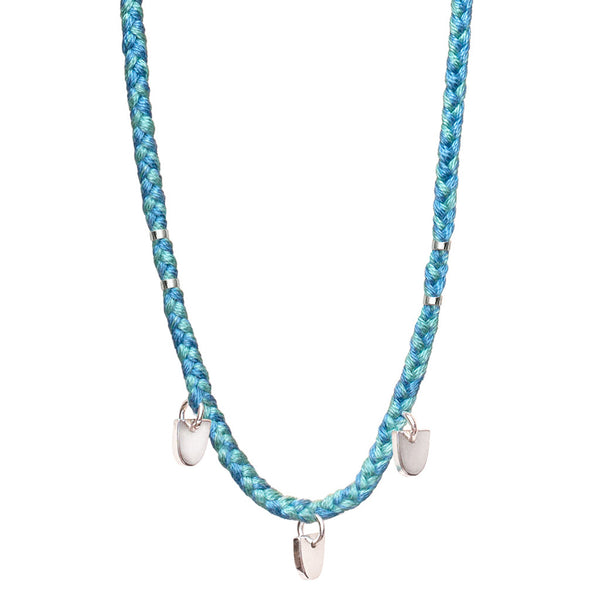 TURQUOISE BUFFALO TOOTH NECKLACE