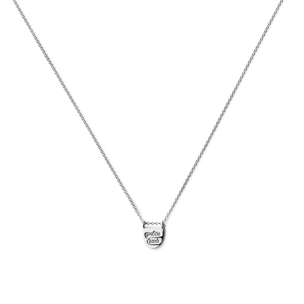 SILVER LIMITLESS NECKLACE