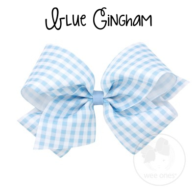 King Gingham Bow (Multiple Color Options)