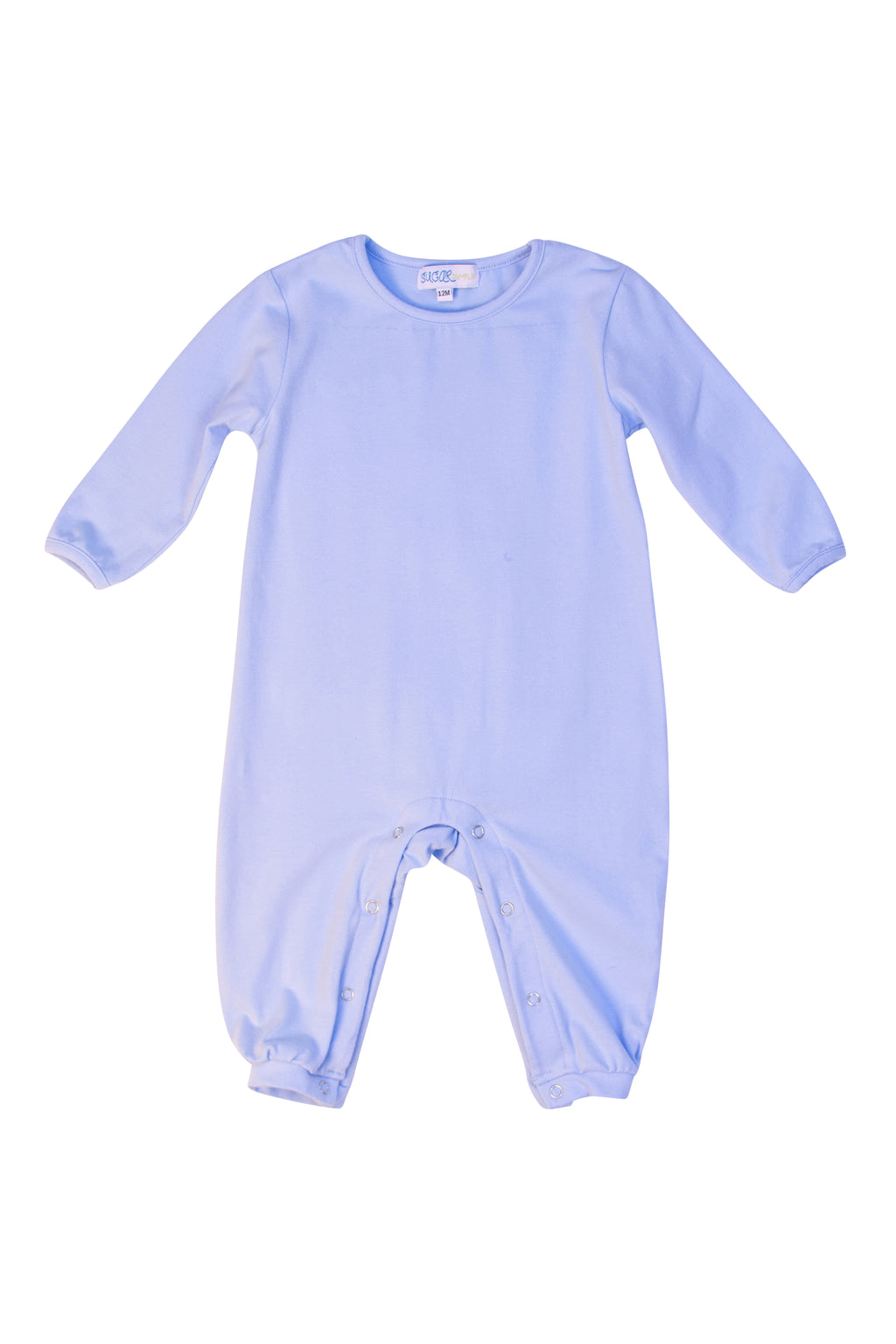 Boys Blue Knit Romper