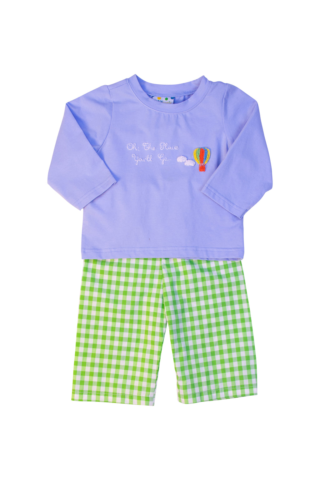 Boys Oh The Places Pant Set