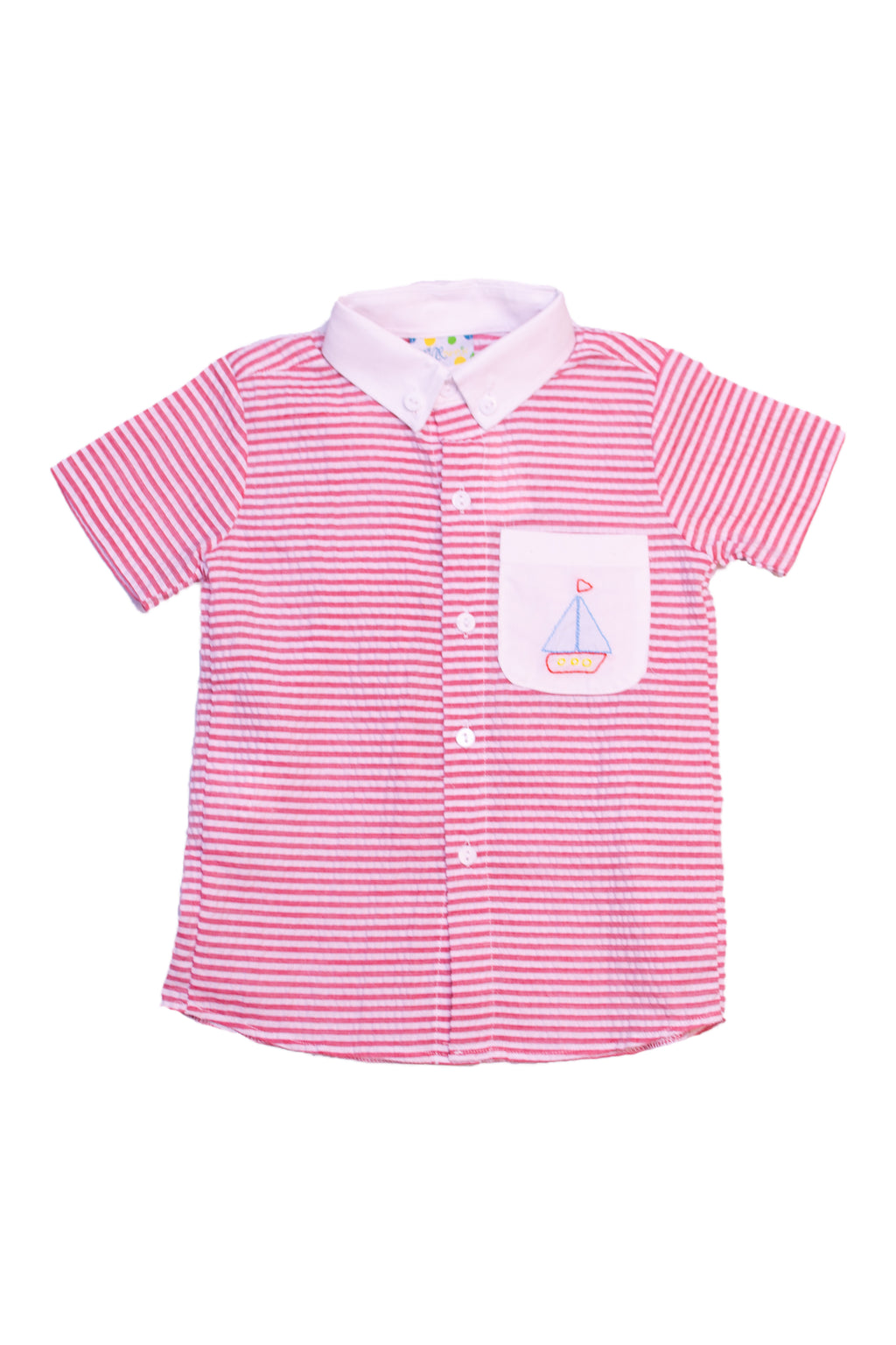 Boys Shadow Sailboat Shirt Only
