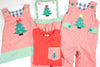 Girls Holiday Reversible Romper