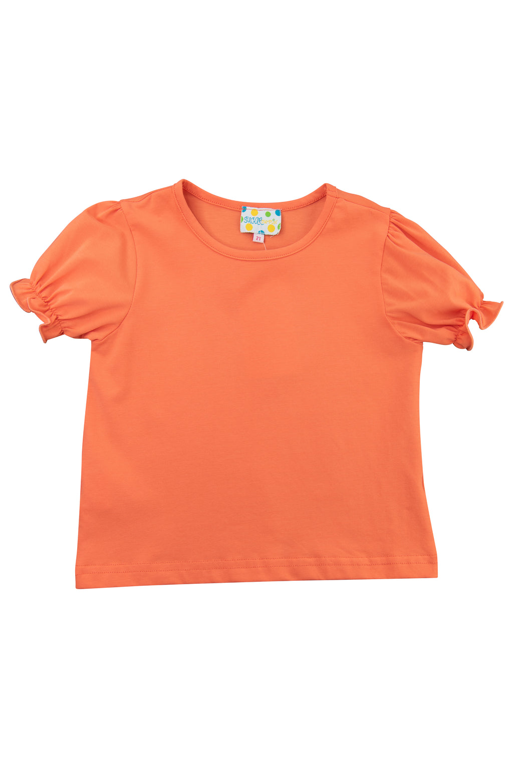 Girls Coral Shirt Only