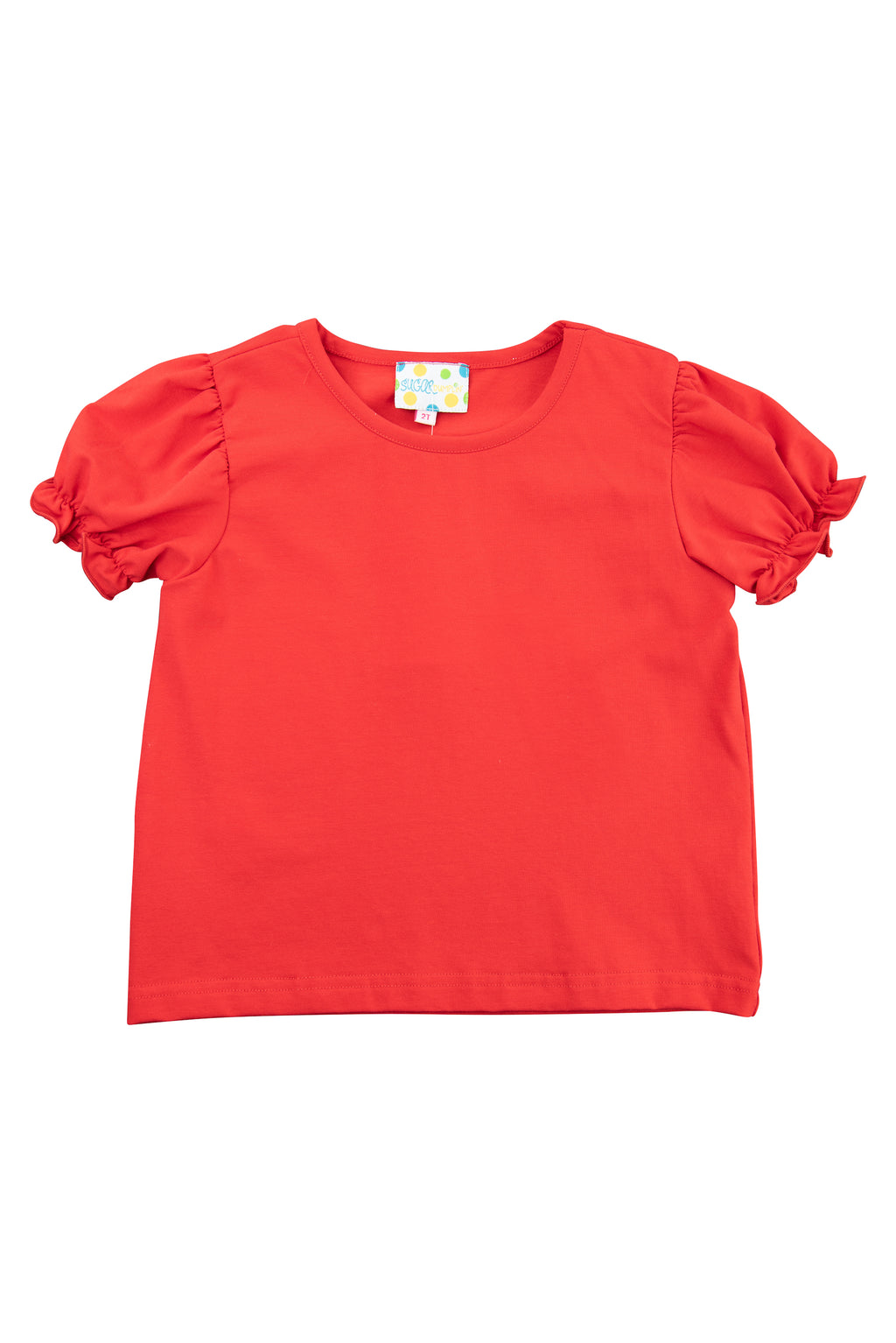 Girls Red Shirt Only