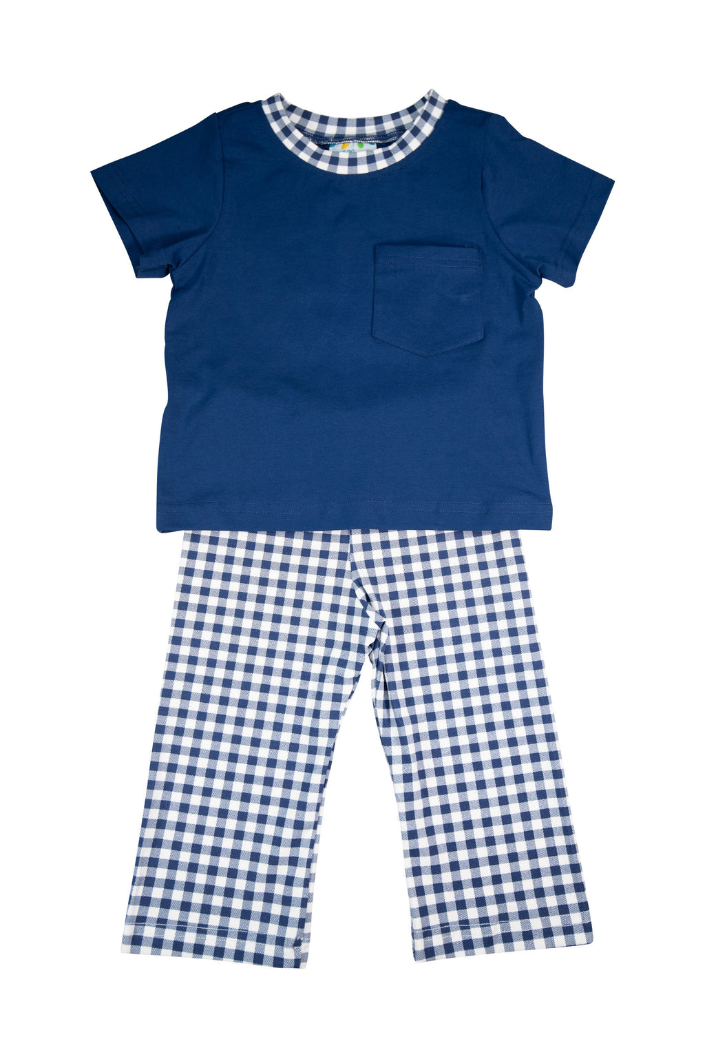 Boys Simply Knit Navy Pants Set